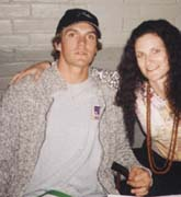 Barry Zito and Andrea the Astrologer