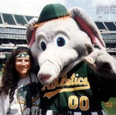 "Andrea and her favorite ""A"" Stomper"