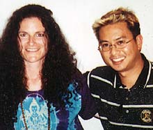 Andrea and Robert Buan, host of Extra Innings radio