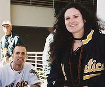 Andrea and Tim Hudson