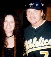 Andrea and Jeremy Giambi